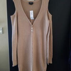 Bebe sweater dress brand new